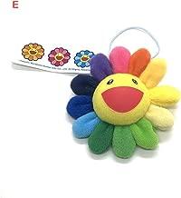 Sunflower KaiKi Bag Hanging Sun Flower Plush Brooch Murakami Ornaments Bag Pendant