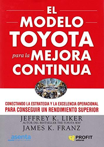 El modelo Toyota para la mejora continua: Conectando la estrategia y la excelencia operacional para conseguir un rendimiento superior