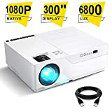 Best 1080p Projectors - Projector, CiBest Native 1080p LED Video Projector 6800 Review