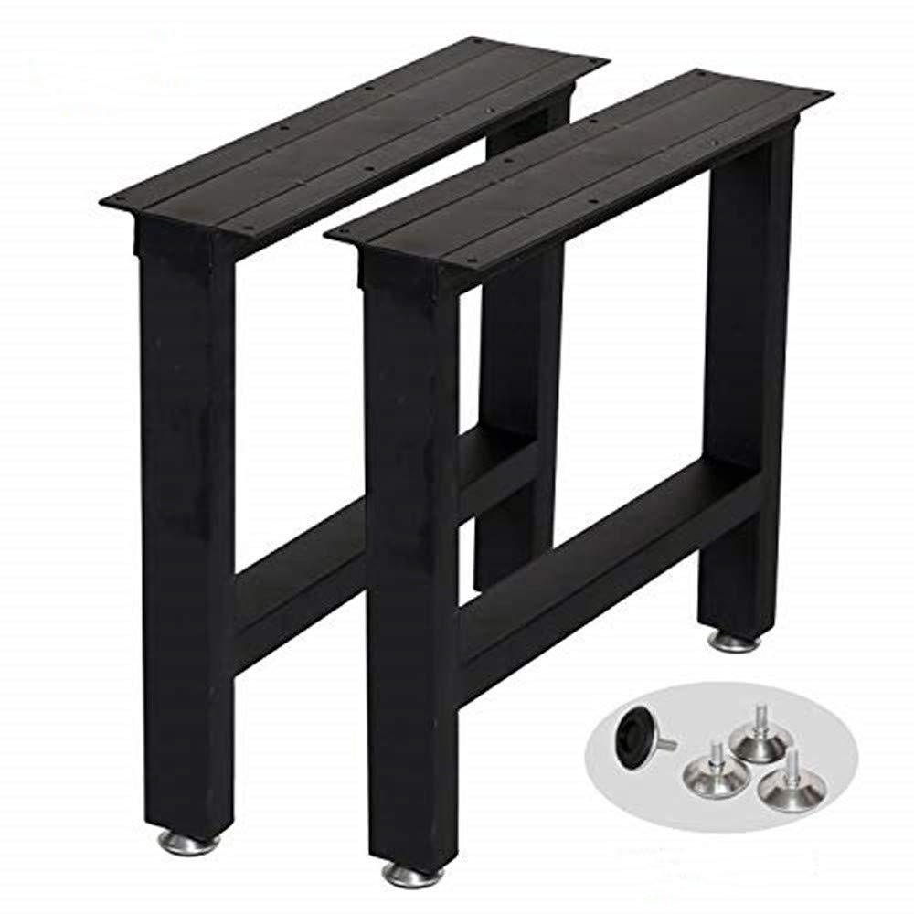 Amazon Com Metal Coffee Table Leg Desk Legs Set Of 2 16 Height 18 Wide Industrial Furniture Legs Metal Table Legs Metal Bench Legs Console Table Legs Kitchen Dining [ 1000 x 1000 Pixel ]