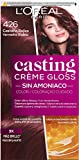 L'Oreal Paris Casting Crème Gloss Coloración Sin Amoniaco, Tono: 426 Castaño Rojizo