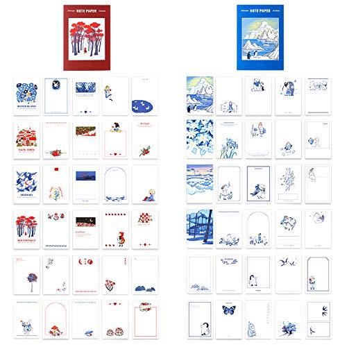 ヨクマク(JorkMack) ペンギンメモ用紙セット 南極大陸メモ帳 おとぎ話付箋 事務用品 スクラップブック 手帳 仕事と学習のために メモを書き取る 1パックに200枚が含まれています