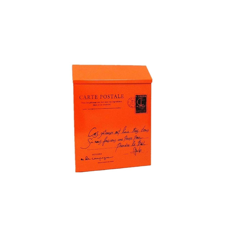YQCS●LS 古典的な金属のポストボックス。-ビンテージ手紙郵便ポストボックス、郵便局用ボックス