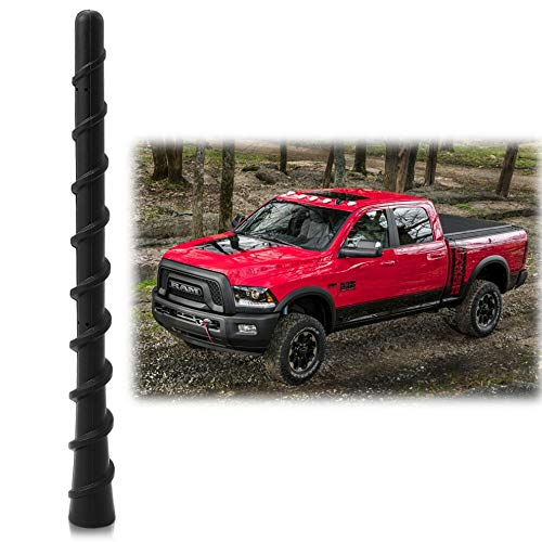 Antenna Mast Perfect Replacement Screw Thread Antenna Fit Dodge Ram 1500 2500 3500 Truck Stubby Antenna Accessories 2009-2019 Accessories