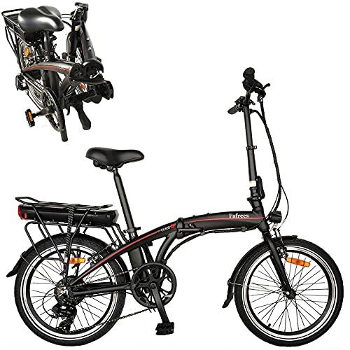Bicicleta eléctrica Velocidad máxima 25 km/h Bicicletas Plegable, Potencia Motor 36V 250W...