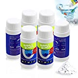 Pipe Dredge Deodorant,Powerful Sink and Drain Cleaner,Magic Bubble Bombs Fast Foaming Pipe Cleaner Deodorant Strong Cleaning Agent Tool for Kitchen Toilet Pipeline Quick Cleaning 6 pack