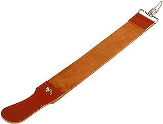 Leather Strop Strap Barber Straight Razor Folding Knife Shave Sharpener Sharpening Belt