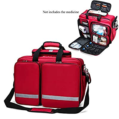 AIURBAG First Response Trauma Bag First Aid Empty Kit Bag for Emergency at Home, Office, Car, Outdoors, Boat, Camping, Hiking from AIURBAG