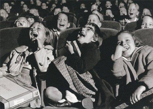 Movie Theater Kids - Avanti America Collection Birthday Card