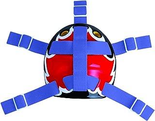 A&R Sports Open Back Goalie Helmet Harness - Royal Blue