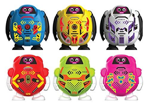 Ycoo by Silverlit Talkibot 9 cm - Robot modellatore vocale con 3 effetti diversi, giocattolo con sensore touch, disponibile in 6 colori