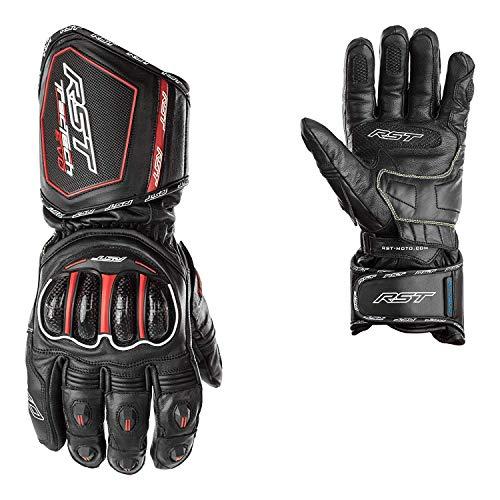 RST Neue Tractech Evo Ce 2583 Wasserdichte Motorrad Handschuh schwarz