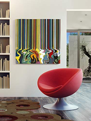Schuller - Cuadros Decorativos - Pintura Acrílica - Marathon (100x100)