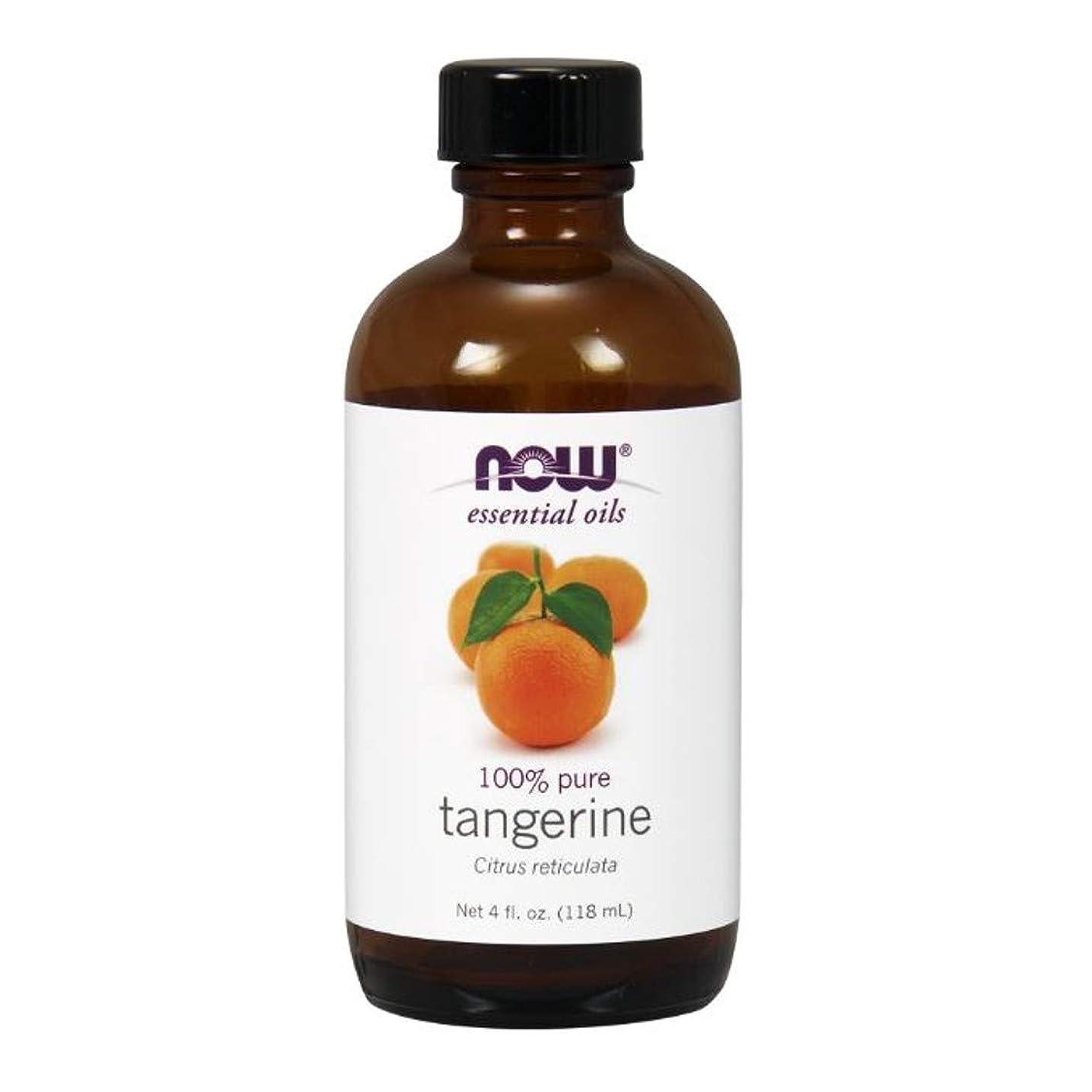 通常数学的なお風呂を持っているNow - Tangerine Oil 100% Pure 4 oz (118 ml) [並行輸入品]