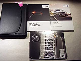 2016 BMW X3 with navigation manual Owners Manual