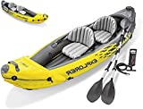 N/Z Kayak Gonflable Adventure,Kayak Gonflable Canoë Canadien 2 Places, Kayak de...