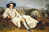 1art1 Johann Heinrich Wilhelm Tischbein - Goethe In Der