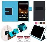 reboon Hülle für Acer Iconia Talk S Tasche Cover Case Bumper   in Schwarz   Testsieger