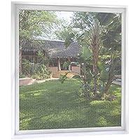 MYCARBON Mosquitera Ventana de 2 unidades 170 * 180 Blanco Mosquitera para ventanas Mosquiteros Ventana Mosquiteras de Ventanas