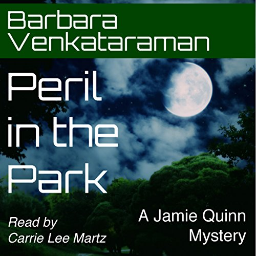 Peril in the Park audiobook cover art