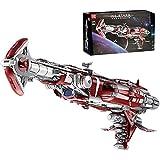 Technology Destroyer Model Kit, más de 8338 piezas bloques construcción nave espacial ciencia ficción estrellas grandes, grande compatible con Lego Star Wars USC cruiser,126 * 40 * 49cm