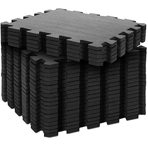 Body & Mind® Boden-Schutzmatten XXL Set; Fitnessmatte Bodenschutz Puzzle-Matte; Unterlegmatte für Fitnessgeräte Turnmatte Trainingsmatte...