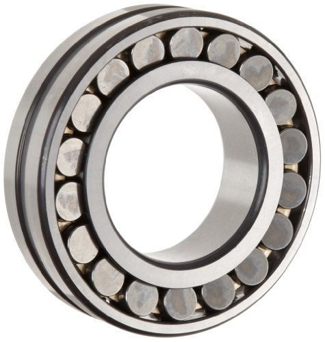 FAG 22215E1AK-M-C3 Spherical Roller Bearing, Tapered Bore, Brass Cage, C3 Clearance, Metric, 75mm ID, 130mm OD, 31mm Width, 6300rpm Maximum Rotational Speed, 236kN Static Load Capacity, 216kN Dynamic Load Capacity