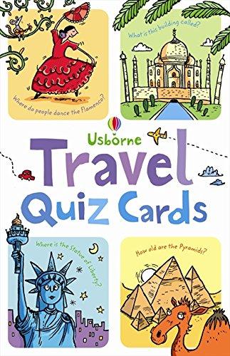 Travel Quiz: Quiz Cards Activity and Puzzle Cards