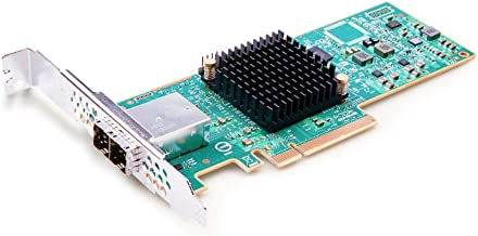 12G External PCI-E SAS/SATA HBA RAID Controller Card, Broadcom's SAS 3008, compatible for SAS 9300-8E