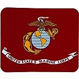 USMC Deluxe Polar Fleece Throw Stadium Blanket - 50X x 60' - Marine Corps Logo with Globe and Anchor by Ruffin