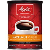 Melitta Hazelnut Crème Flavored Coffee, Medium Roast, Extra Fine Grind, 11 Ounce Can (Pack of 6)
