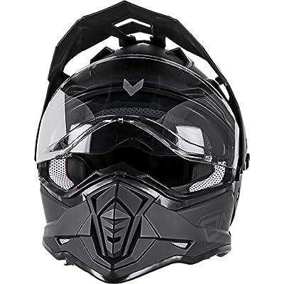 O'Neal - 0817-506 unisex-adult full-face style Sierra II Helmet Flat Black XXL (63/64cm)