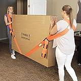SJWR Muebles para el hogar Mover el antebrazo Carretilla elevadora Levantar Correa móvil Llevar Cuerdas Correa de Transporte Correas de muñeca Mover a casa Herramientas convenientes