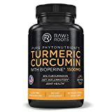 Turmeric Curcumin with BIOPERINE Black Pepper Extract - Anti Inflammatory, Joint Support, 95% Curcuminoids - Dietary Supplement - 60 Vegetarian Capsules (60)