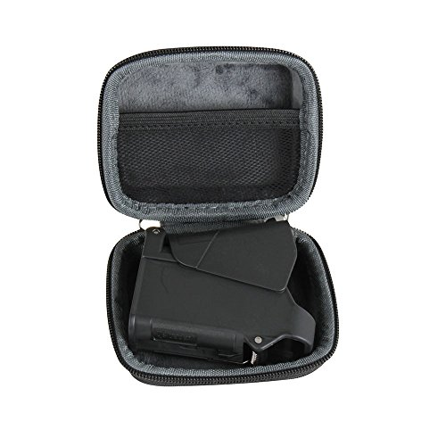 Hermitshell Hard Travel Case Fits Maglula ltd. UpLULA Pistol Magazine Loader/Unloader, Fits 9mm-45 ACP (Not Include The Pistol Magazine Loader/Unloader)