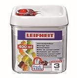 Leifheit 31207rechteckig Box 0.4L rot, transparent, Weiß 1Stück (S) lebensmittellagerungbehälter Aufbewahrungsbehälter (1Stück (S))