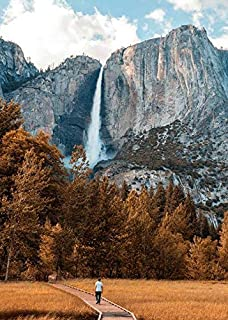 Jigsaw Central Yosemite Falls 1000 Piece Jigsaw Puzzle for Adults and Children