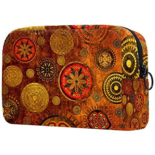 Neceser de viaje, bolsa de viaje impermeable, bolsa de aseo para mujeres y niñas Cool Leopard 18,5 x 7,5 x 13 cm