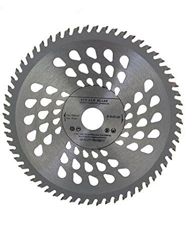 Hoja de sierra circular de 160mm para discos de corte de madera circular 160x 20 mm, 60 dientes