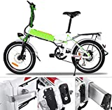 BIKFUN Elektrofahrrad, 20 Zoll E-Bike, Lithium-Akku - 2