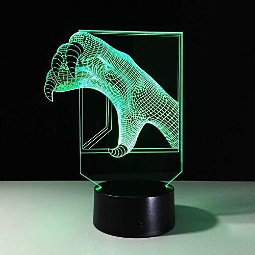 Baby Chang S nachtlampje 3D nachtlampje slaapkamerverlichting bureau baby kar S kleine slaapkamer ReadingKid's Gift