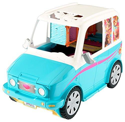 Barbie DLY33 - Die Große Hundesuche Mobil Fahrzeug, Puppen Zubehör und Spielzeug für Mädchen ab 3 Jahren