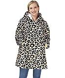 Freshhoodies Hoodie Sweatshirt Decke, Warm, Gemütlich, Übergroß, Tragbar, Taschen Decke, Kapuzenpullover Für Erwachsene, Damen, Herren Und Jugendliche, Einheitsgröße