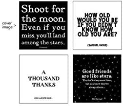 Shoot for the Moon Box Card Set featuring 5 each of 4 Quotable Cards