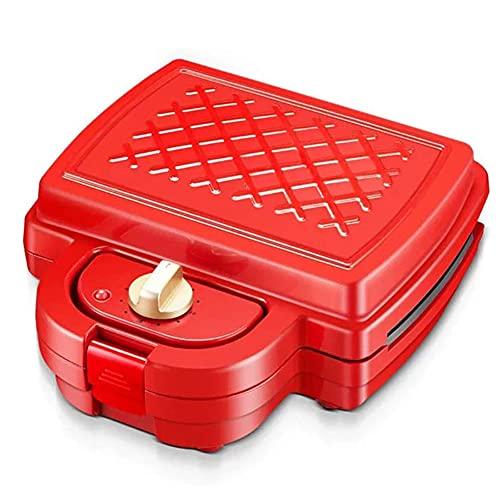 JJINPIXIU Máquina de gofres para el hogar de 220 v, máquina de Desayuno, Bandeja para Hornear sándwich de Pan Multifuncional, Segura y aplicable, fácil de Limpiar