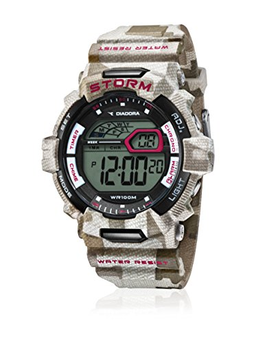 Diadora Herren Digital Quarz Uhr mit Plastik Armband DI-016-03