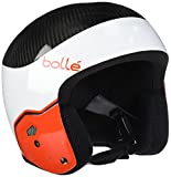 Bollé Medalist Casque de ski Adulte,Multicolore(White & Red)53-56 cm