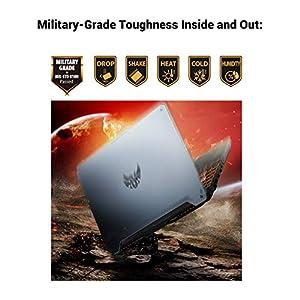 "ASUS TUF Gaming A15 Gaming Laptop, 15.6"" 144Hz Full HD IPS-Type, AMD Ryzen 7 4800H, GeForce RTX 2060, 16GB DDR4, 1TB PCIe SSD, 90WHr Battery, RGB Backlit KB, Windows 10 Home, TUF506IV-AS76"