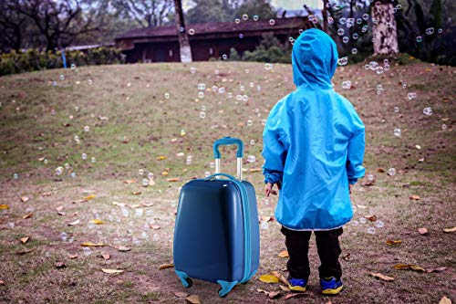 Hauptstadtkoffer Kids Luggage Children's Luggage Suitcase Hard-Side Glossy Multicoloured Blue