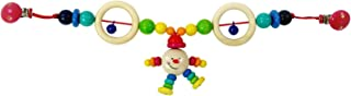 Hess 12973 Wooden Michel Carriage Chain Baby Toy, Multi-Color